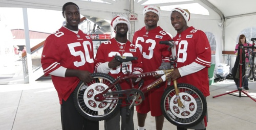 Lucky for us, our team is not only in the Superbowl this coming Sunday, but they wear red! 49ers represent!