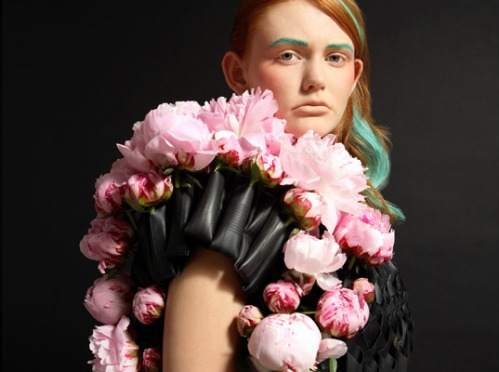 Bike tube floral haute couture