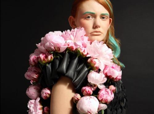 Bike tube floral haute couture