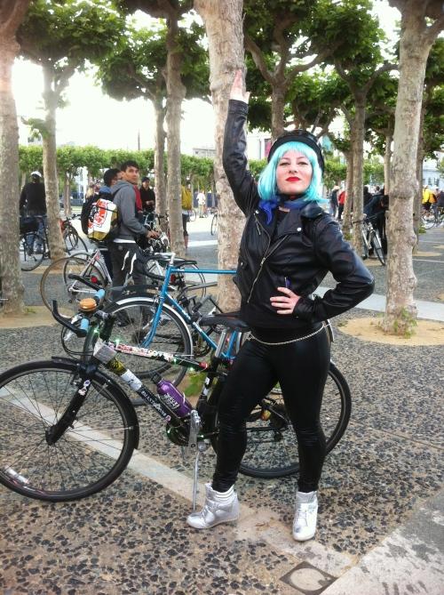 Rocker chick!
