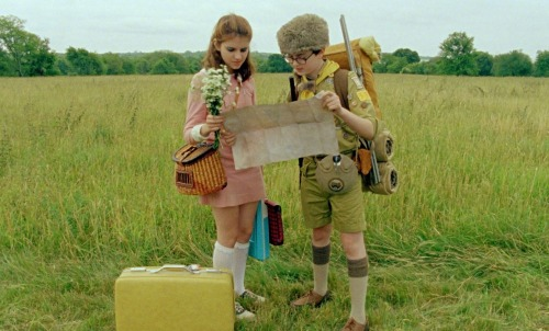 Always be prepared! Image still from the Film Moonrise Kingdom