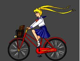 sailor moon bike