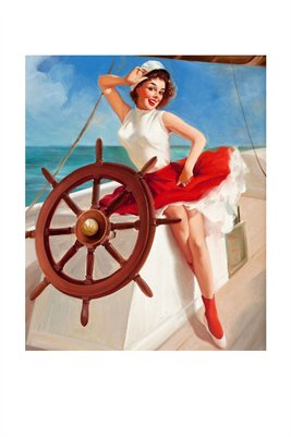 skipper pin up