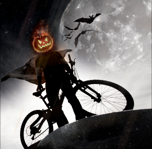 It's the headless bike rider! AAAAHHHHHHH! Original Image here.