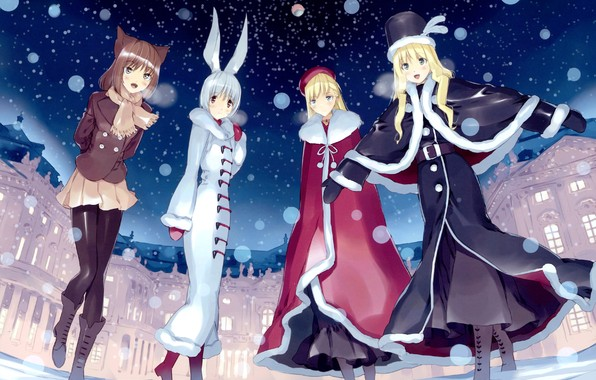 alice and the red queen anime girls