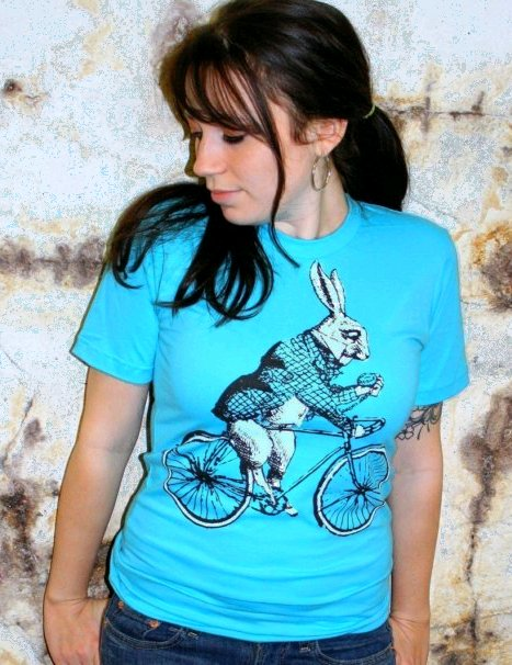 white rabbit-bike