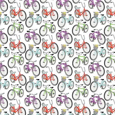 Make sure to wrap our presents in festive bicycle wrapping paper,