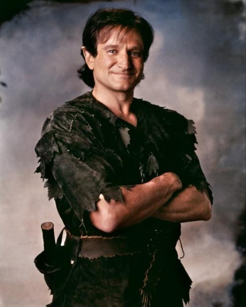 Robin as peter pan