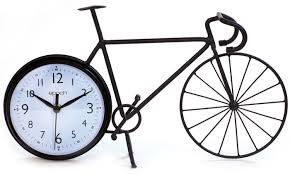 back wheel clock