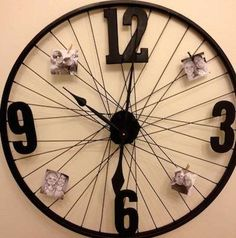 clock on a bike