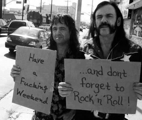 have a fucking weekend